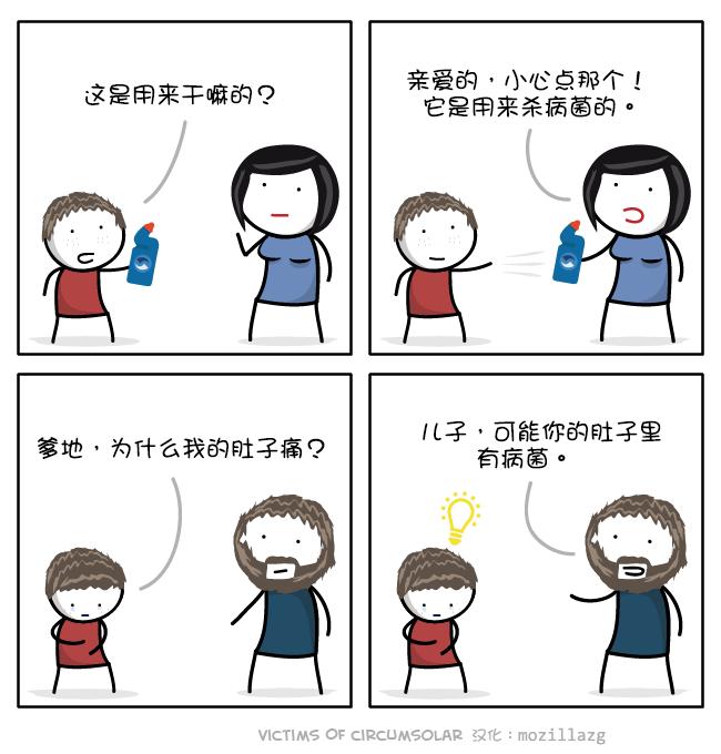 Victims of Circumsolar:漂白剂