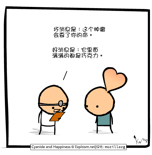 Cyanide & Happiness #1555:肿瘤