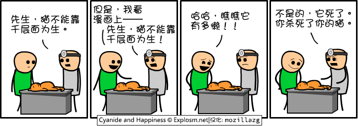 Cyanide & Happiness #1812:检查