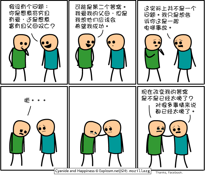 Cyanide & Happiness #2257:假设