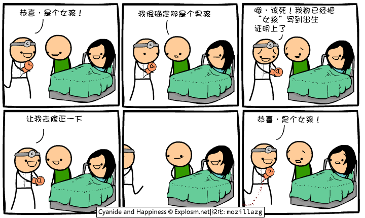 Cyanide & Happiness #2643:女孩