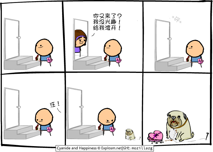 Cyanide & Happiness #2698:兴趣