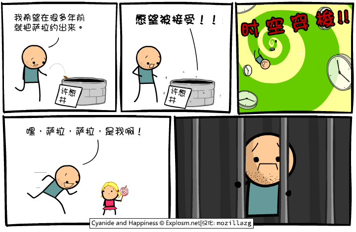 Cyanide & Happiness #3081:许愿井