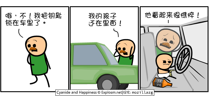 Cyanide & Happiness #3152:钥匙